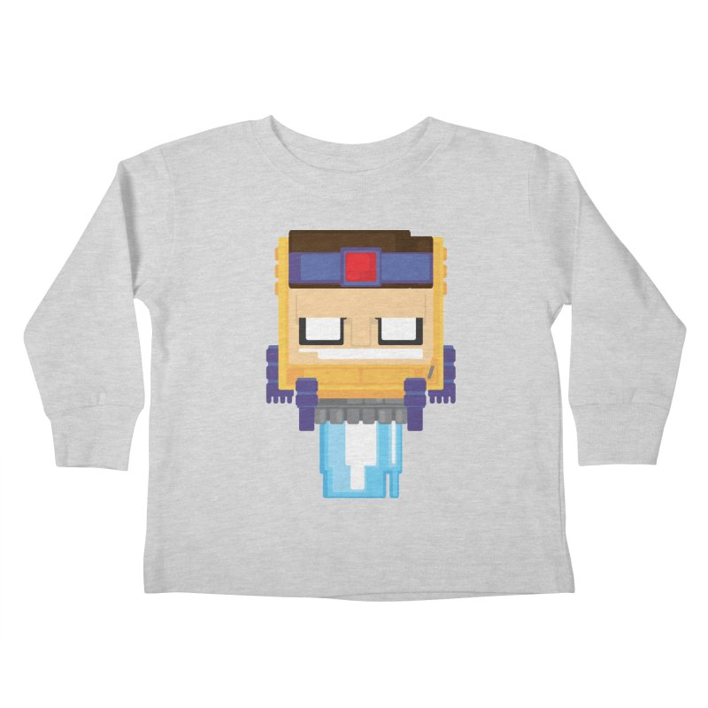M.O.D.O.K. Kids Toddler Longsleeve T-Shirt by Dagoozle's Artist Shop