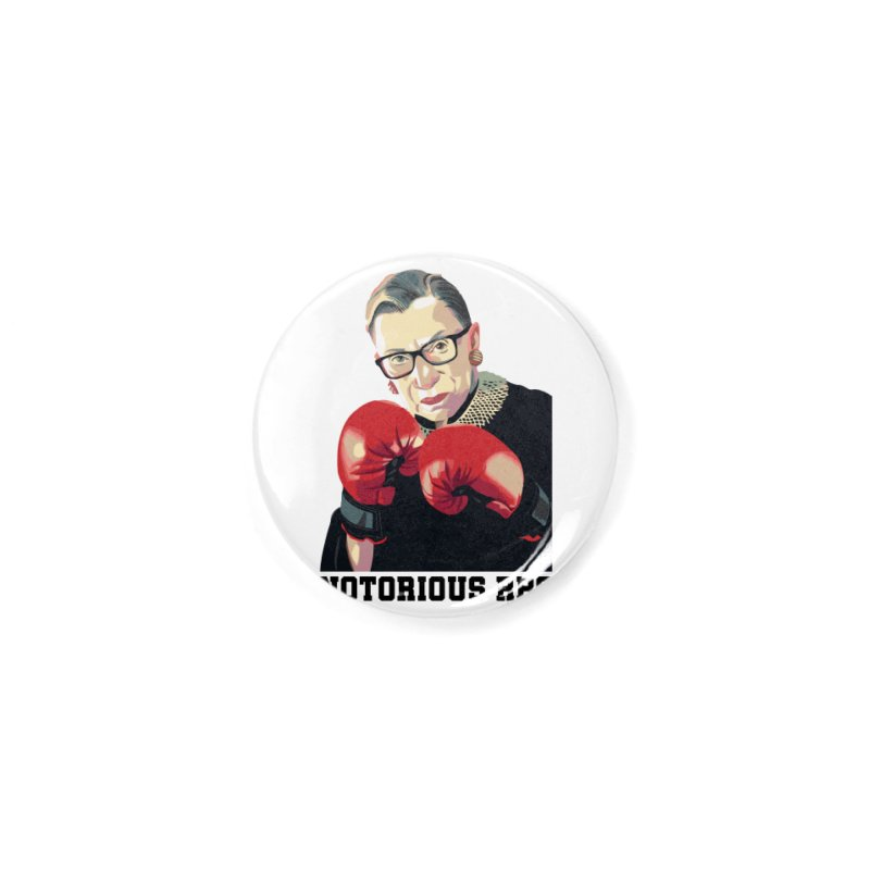 Notorious RBG Fight The Discrimination Accessories Button by DamniThanom's Artist Shop