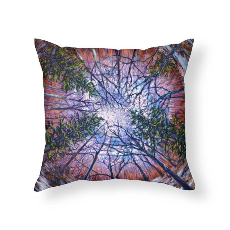 Forest eye  Home Throw Pillow by Dan Coe Art