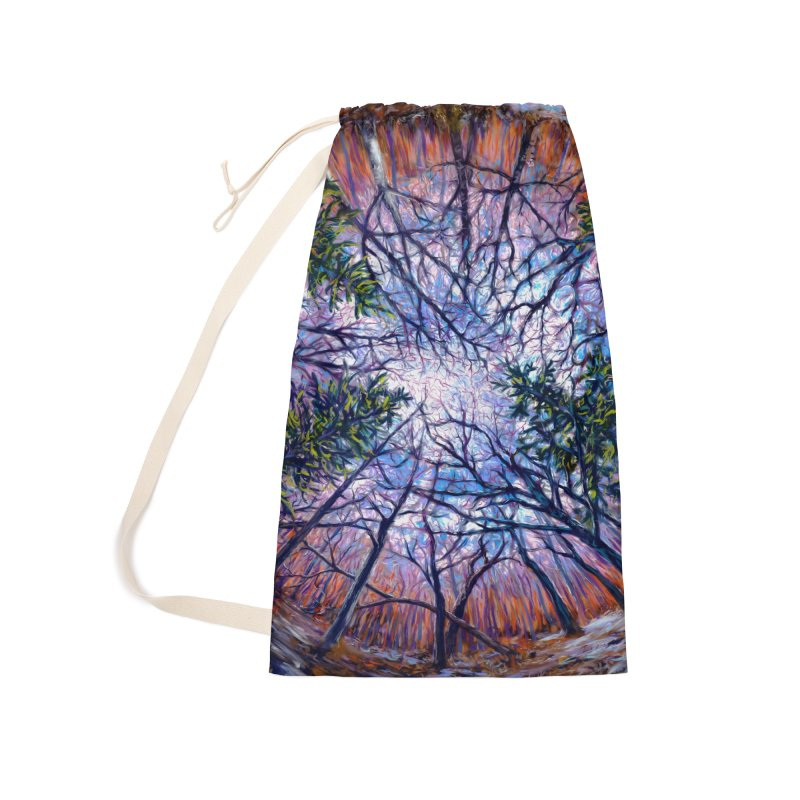 Forest eye  Accessories Laundry Bag Bag by Dan Coe Art