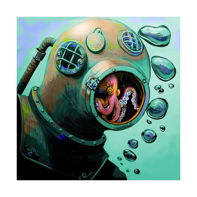 Octo Diver  by Dan Coe Art