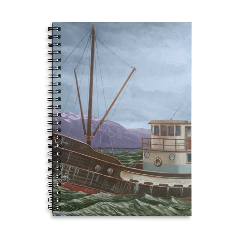 The Celtic Accessories Lined Spiral Notebook by Dan Coe Art