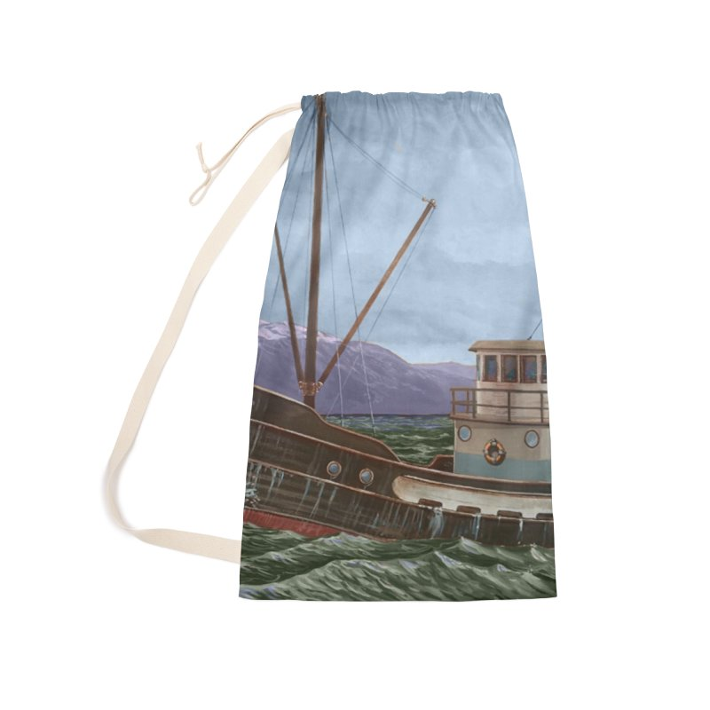 The Celtic Accessories Laundry Bag Bag by Dan Coe Art