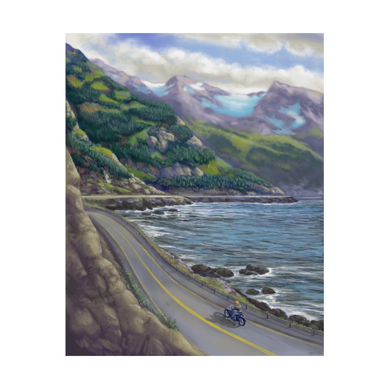 Turnagain Ride  by Dan Coe Art