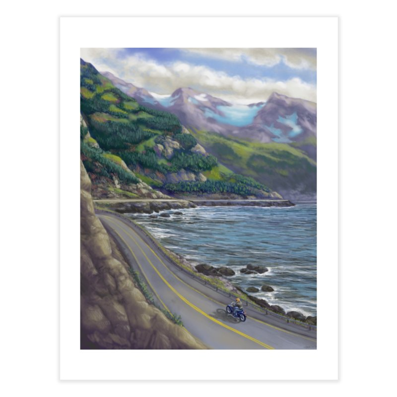 Turnagain Ride  Home Fine Art Print by Dan Coe Art