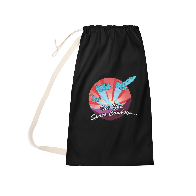 Space Cowboys Accessories Laundry Bag Bag by ArtByDanger's Artist Shop