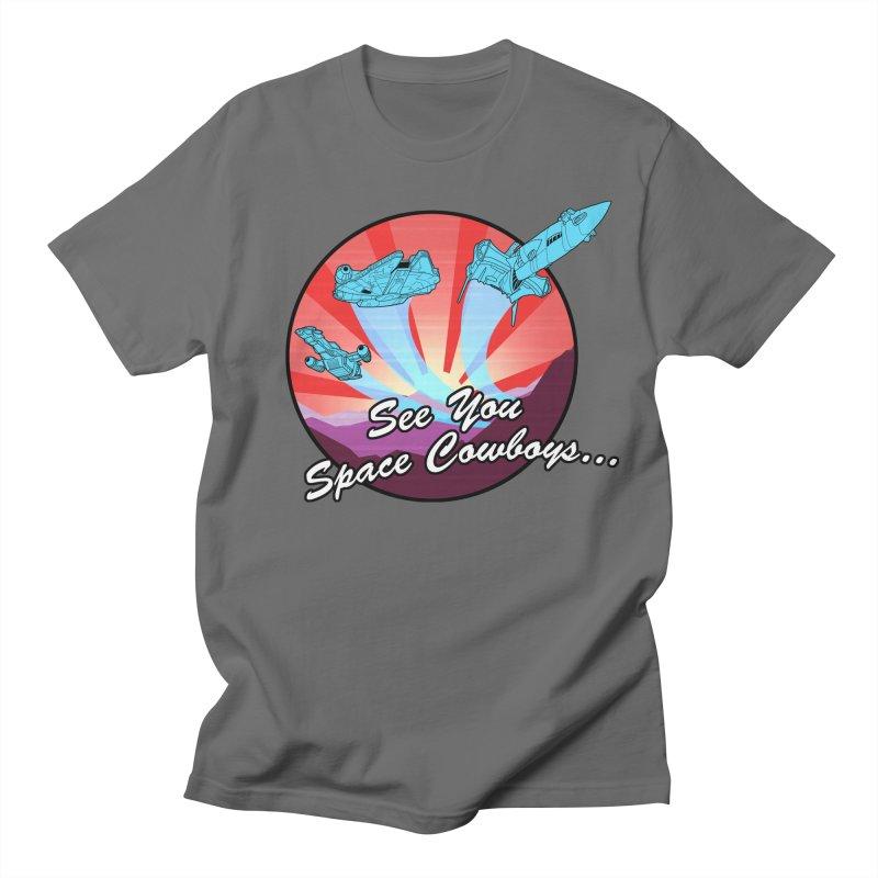 Space Cowboys Men's T-Shirt by ArtByDanger's Artist Shop