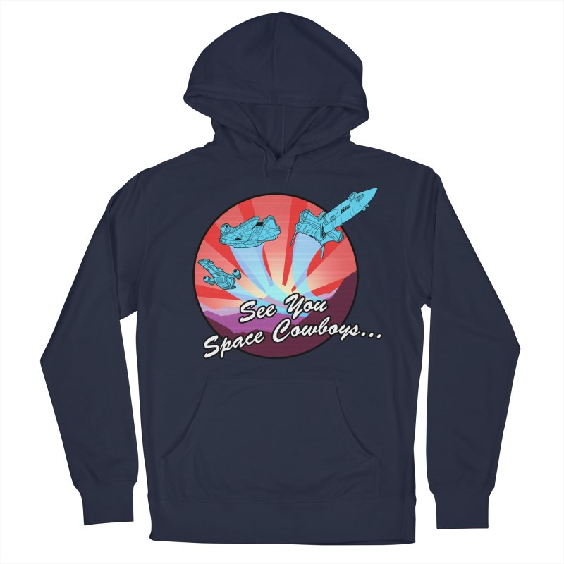 Space Cowboys Women's French Terry Pullover Hoody by ArtByDanger's Artist Shop