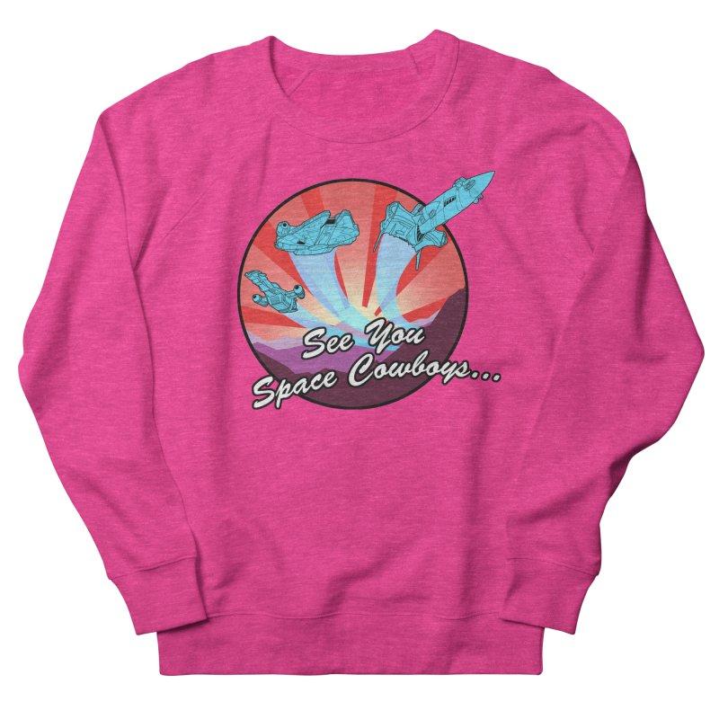 Space Cowboys Women's French Terry Sweatshirt by ArtByDanger's Artist Shop