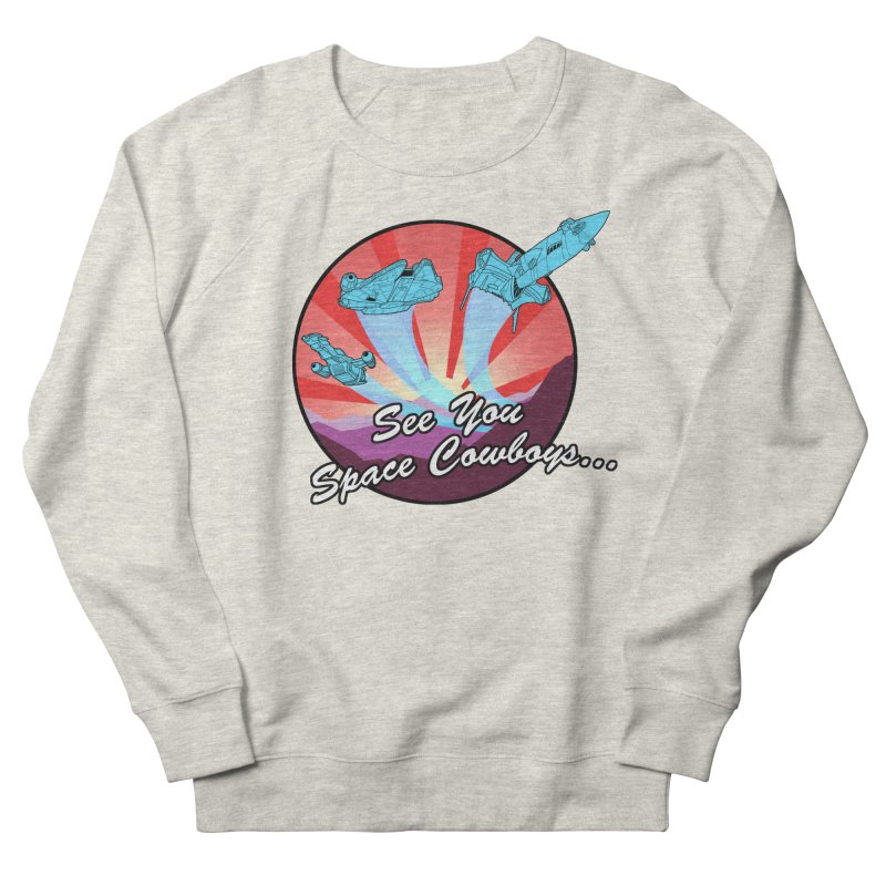 Space Cowboys Men's French Terry Sweatshirt by ArtByDanger's Artist Shop