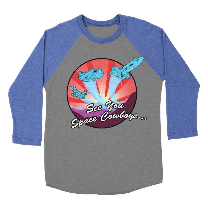 Space Cowboys Women's Baseball Triblend Longsleeve T-Shirt by ArtByDanger's Artist Shop