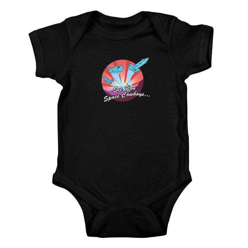 Space Cowboys Kids Baby Bodysuit by ArtByDanger's Artist Shop