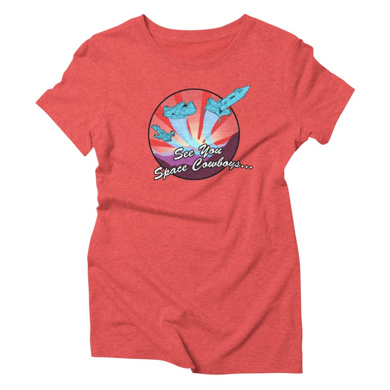 Space Cowboys Women's Triblend T-Shirt by ArtByDanger's Artist Shop