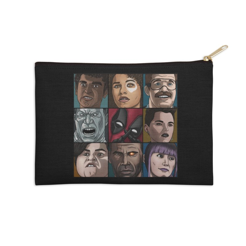 X FORCE Accessories Zip Pouch by ArtByDanger's Artist Shop
