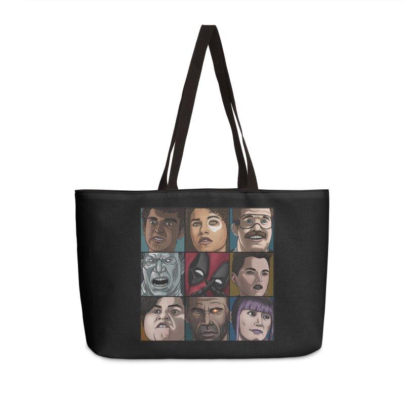 X FORCE Accessories Weekender Bag Bag by ArtByDanger's Artist Shop