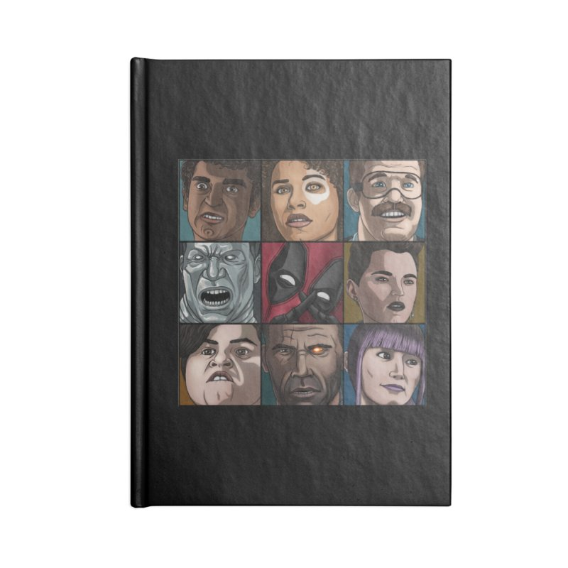 X FORCE Accessories Lined Journal Notebook by ArtByDanger's Artist Shop