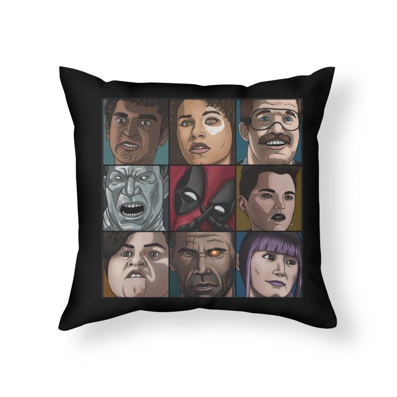 X FORCE Home Throw Pillow by ArtByDanger's Artist Shop