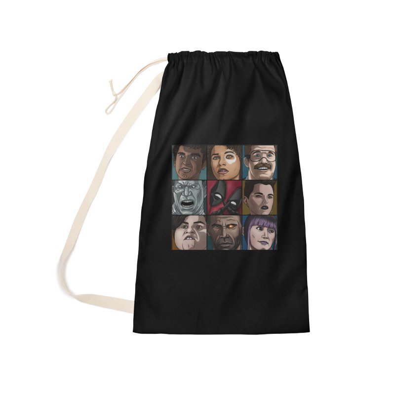 X FORCE Accessories Laundry Bag Bag by ArtByDanger's Artist Shop