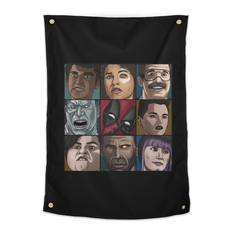 X FORCE Home Tapestry by ArtByDanger's Artist Shop