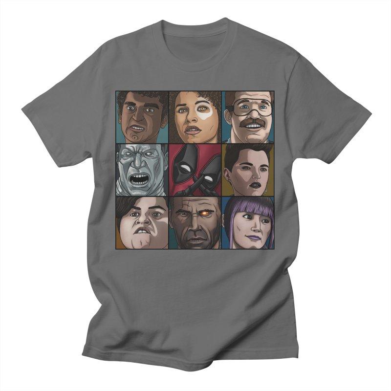 X FORCE Men's T-Shirt by ArtByDanger's Artist Shop