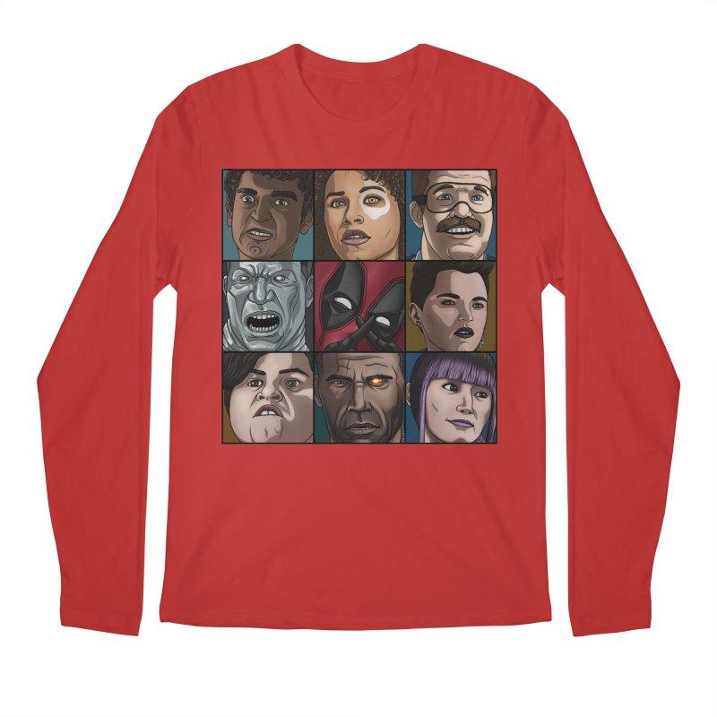 X FORCE Men's Regular Longsleeve T-Shirt by ArtByDanger's Artist Shop
