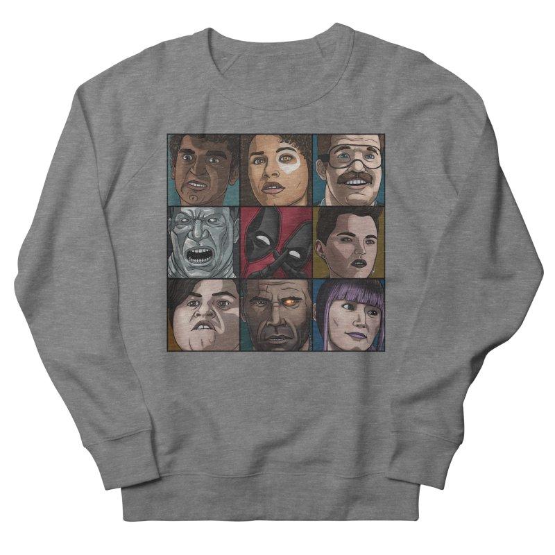 X FORCE Women's French Terry Sweatshirt by ArtByDanger's Artist Shop