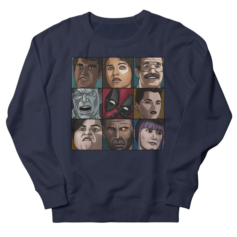 X FORCE Men's French Terry Sweatshirt by ArtByDanger's Artist Shop