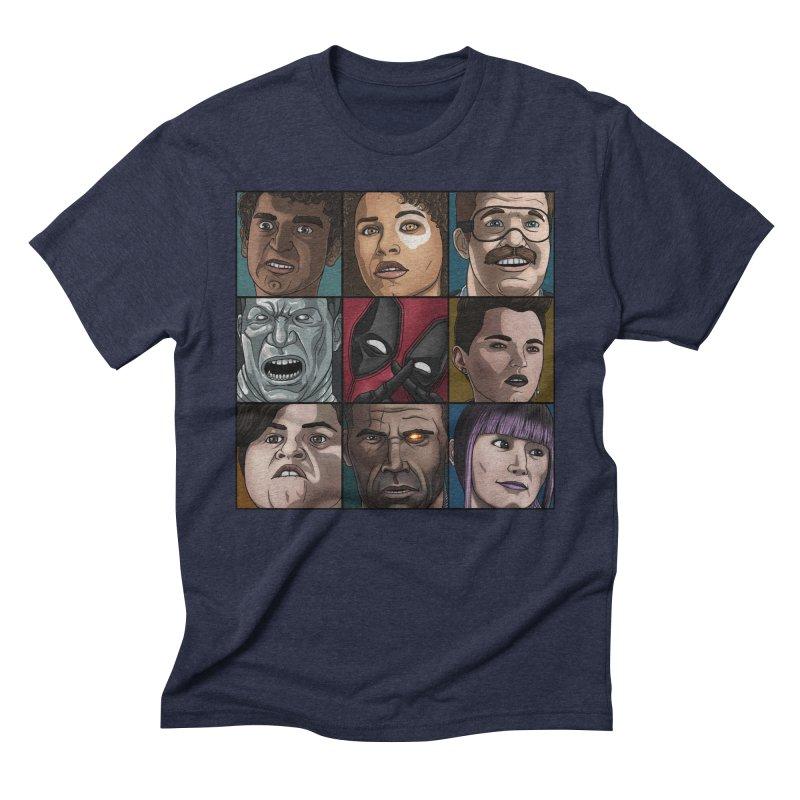X FORCE Men's Triblend T-Shirt by ArtByDanger's Artist Shop