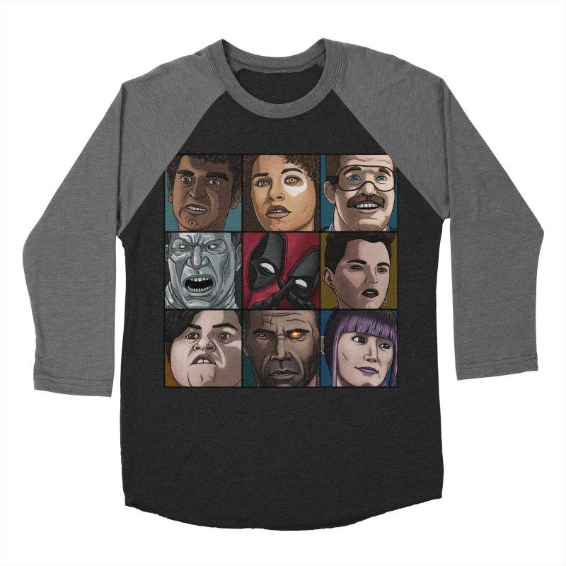 X FORCE Women's Baseball Triblend Longsleeve T-Shirt by ArtByDanger's Artist Shop