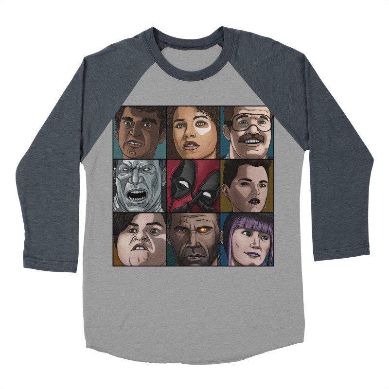 X FORCE Men's Baseball Triblend Longsleeve T-Shirt by ArtByDanger's Artist Shop