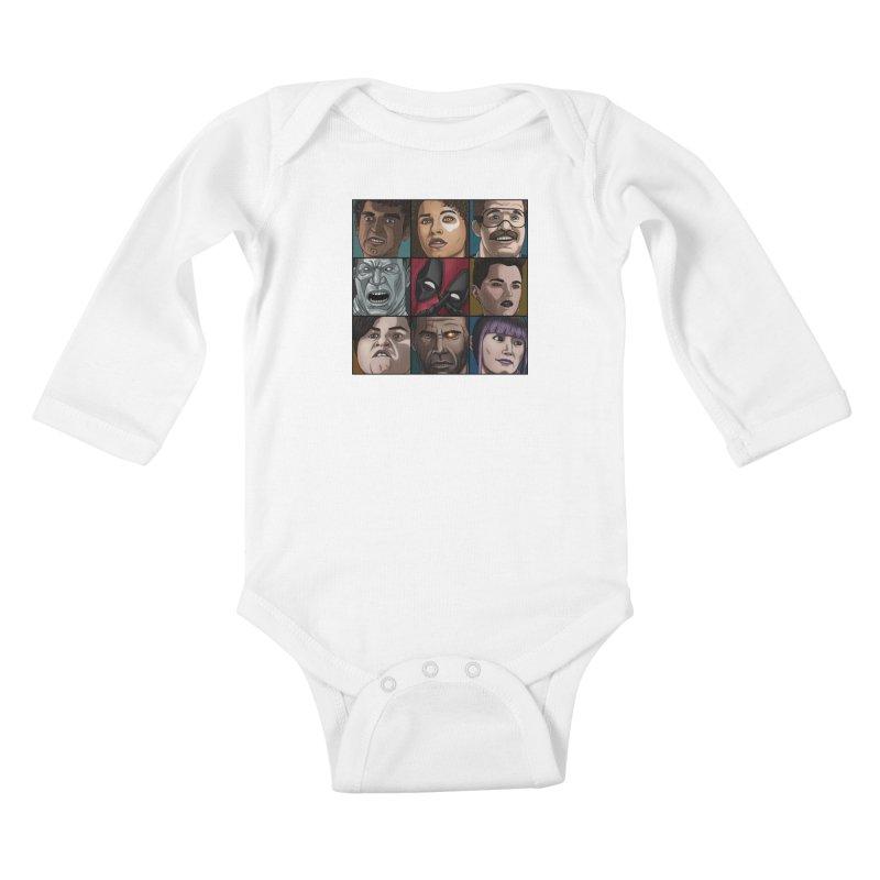 X FORCE Kids Baby Longsleeve Bodysuit by ArtByDanger's Artist Shop