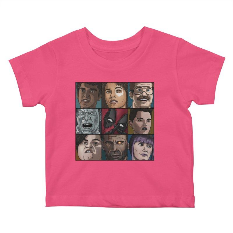 X FORCE Kids Baby T-Shirt by ArtByDanger's Artist Shop