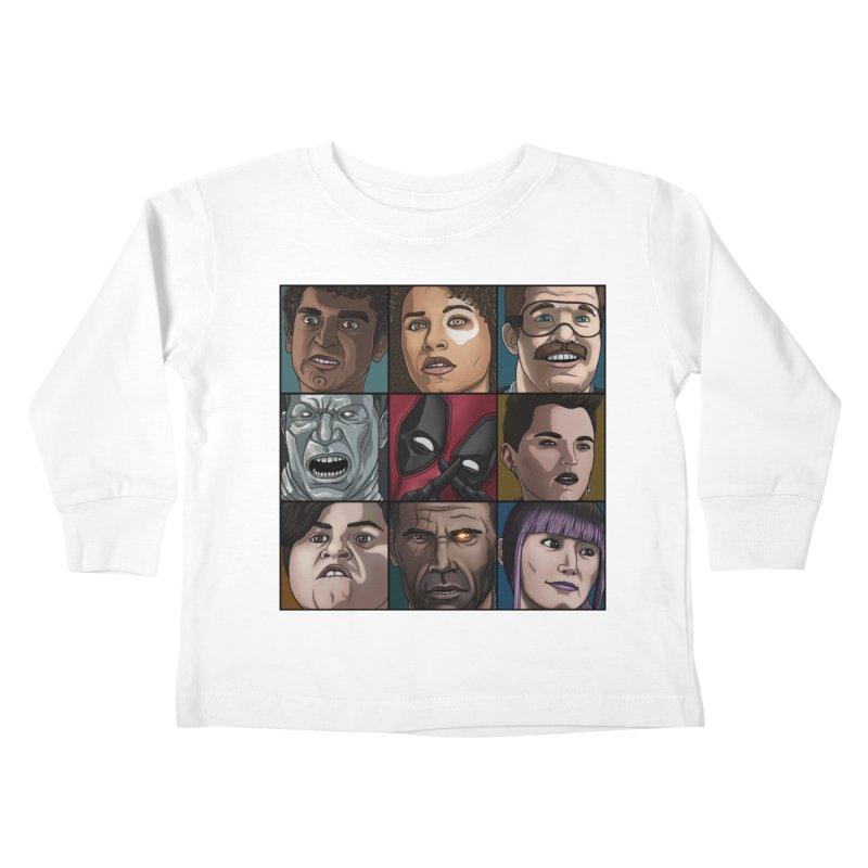 X FORCE Kids Toddler Longsleeve T-Shirt by ArtByDanger's Artist Shop