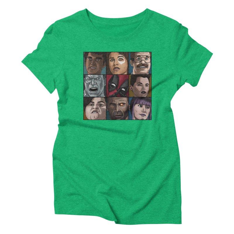 X FORCE Women's Triblend T-Shirt by ArtByDanger's Artist Shop