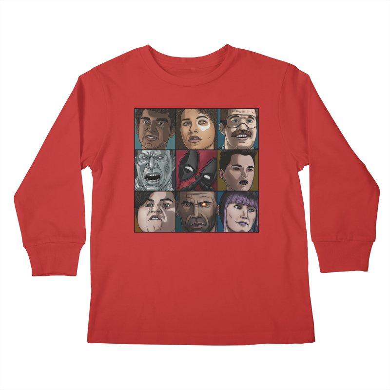 X FORCE Kids Longsleeve T-Shirt by ArtByDanger's Artist Shop