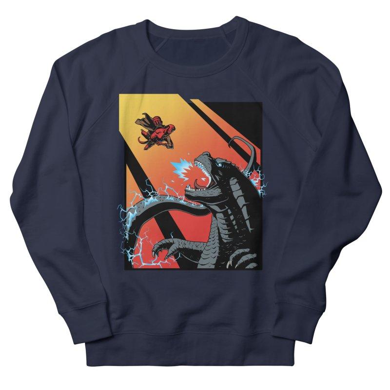 Hero Monster Battle Women's French Terry Sweatshirt by ArtByDanger's Artist Shop
