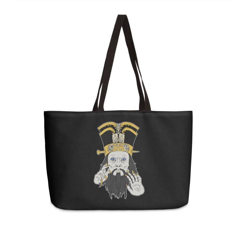 Lo Pan Accessories Weekender Bag Bag by ArtByDanger's Artist Shop