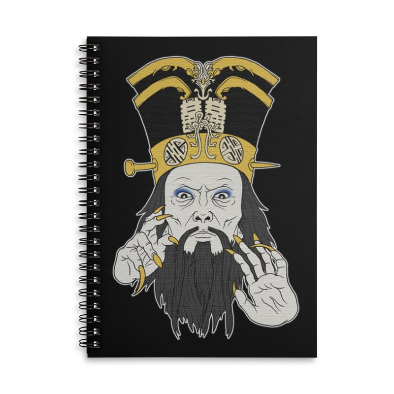 Lo Pan Accessories Lined Spiral Notebook by ArtByDanger's Artist Shop