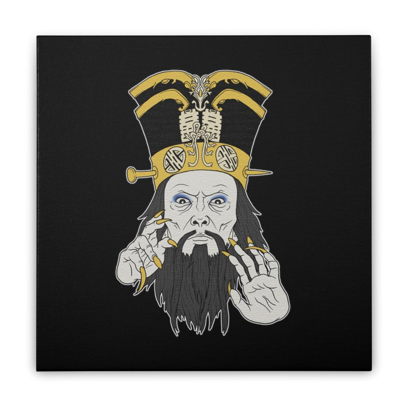 Lo Pan Home Stretched Canvas by ArtByDanger's Artist Shop