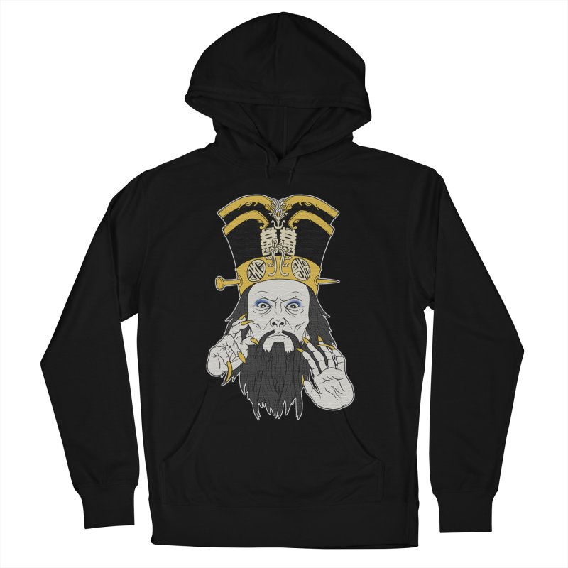 Lo Pan Men's French Terry Pullover Hoody by ArtByDanger's Artist Shop