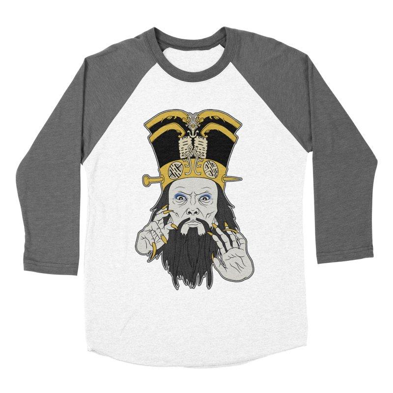 Lo Pan Women's Baseball Triblend Longsleeve T-Shirt by ArtByDanger's Artist Shop