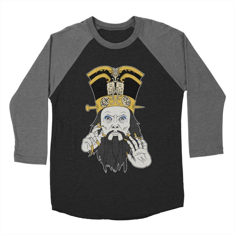 Lo Pan Men's Baseball Triblend Longsleeve T-Shirt by ArtByDanger's Artist Shop
