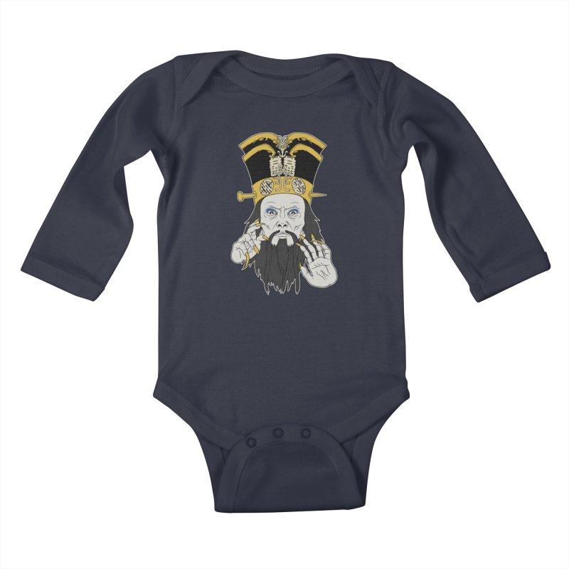 Lo Pan Kids Baby Longsleeve Bodysuit by ArtByDanger's Artist Shop