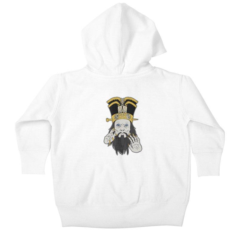 Lo Pan Kids Baby Zip-Up Hoody by ArtByDanger's Artist Shop