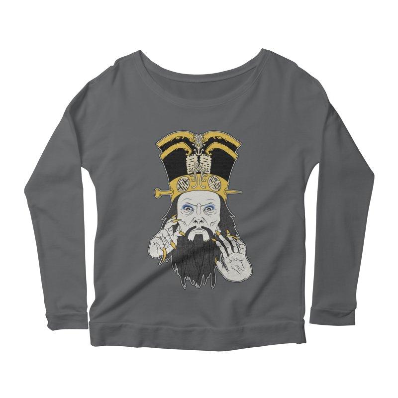 Lo Pan Women's Scoop Neck Longsleeve T-Shirt by ArtByDanger's Artist Shop