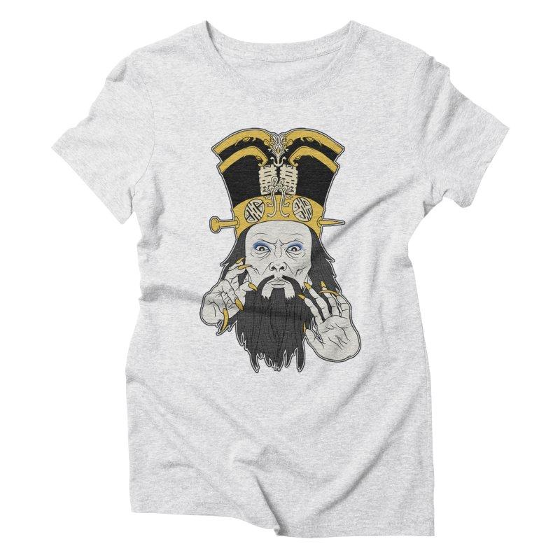 Lo Pan Women's Triblend T-Shirt by ArtByDanger's Artist Shop