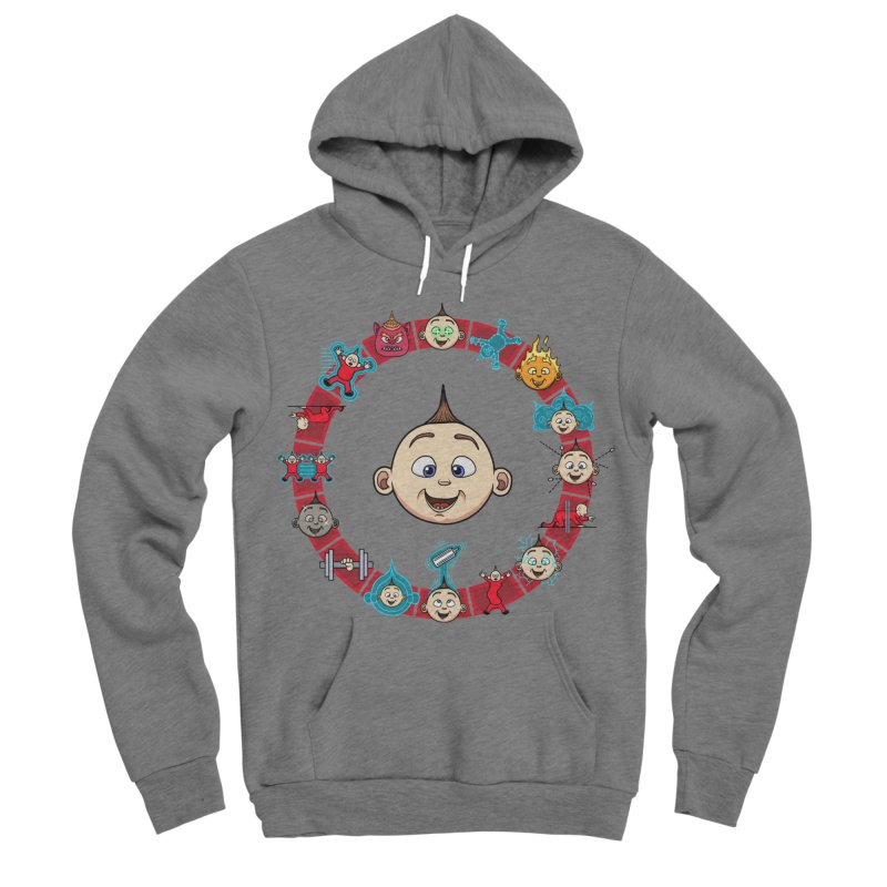 The Incredible Jack Jack Men's Sponge Fleece Pullover Hoody by ArtByDanger's Artist Shop
