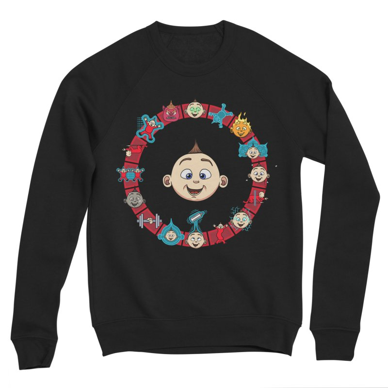 The Incredible Jack Jack Men's Sponge Fleece Sweatshirt by ArtByDanger's Artist Shop