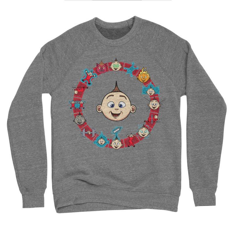 The Incredible Jack Jack Women's Sponge Fleece Sweatshirt by ArtByDanger's Artist Shop