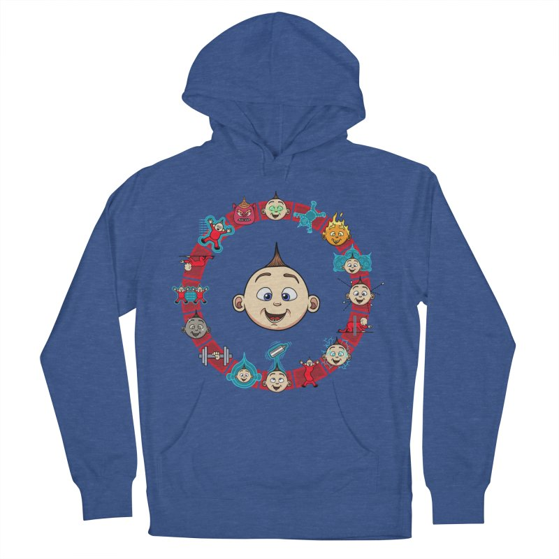 The Incredible Jack Jack Men's French Terry Pullover Hoody by ArtByDanger's Artist Shop
